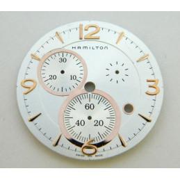 HAMILTON White dial 34.70mm