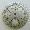 Cadran blanc pour chronographe Valjoux 7750 - 29.50mm