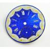 Cadran bleu émaillé gousset 38.50mm