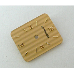 cadran Boucheron REFLET champagne rectangulaire - 13,23x16,08mm