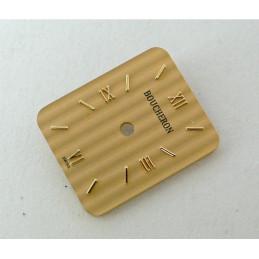 Rectangular champagne REFLET BOUCHERON dial - 13,23x16,08mm