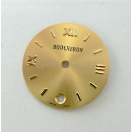 Round champagne SOLIS BOUCHERON dial - 20mm