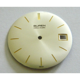 BUREN Intra matic dial 30.50mm