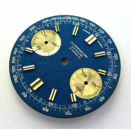 Chronograph dial - diameter 30 mm for Valjoux 7733