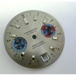 Generic chronograph dial - diameter 30 mm for V7734