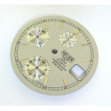 Cadran chronographe Heuer 200m quartz - diamètre 29,4 mm