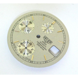 Heuer quartz chronograph 200m dial - diameter 29,4 mm