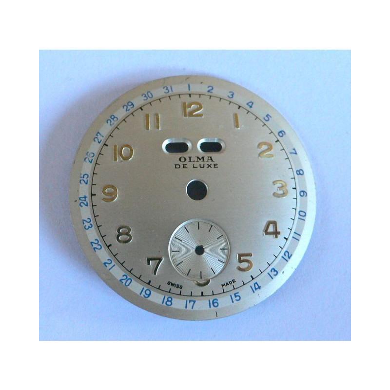 Cadran chronographe Olma - diamètre 30 mm