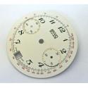 Cadran chronographe valjoux 7734 - diamètre 29,55 mm