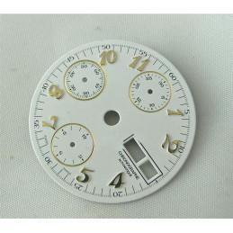 Cadran chronographe générique - diamètre 28,5 mm
