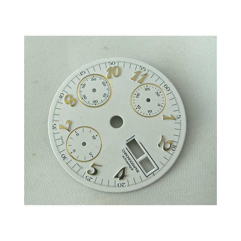 Cadran chronographe Valjoux 7750 - diamètre 28,5 mm