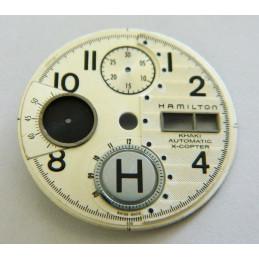 HAMILTON Cream dial for valjoux 7750 chronograph - 30.19mm