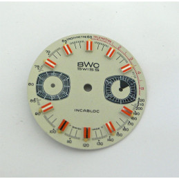 BWC chronograph for valjoux 7733 - diameter 28 mm