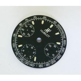 Cadran de chronographe HUBLOT (manque 1 index) - diametre: 28,50mm