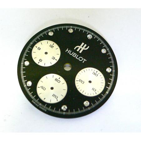 HUBLOT diamond markers chronograph dial - diameter: 26,60mm