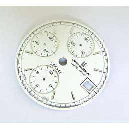 UNIVERSAL GENEVE COMPAX chronograph dial - diameter 29,5 mm