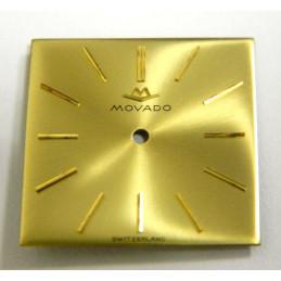 MOVADO Gold dial