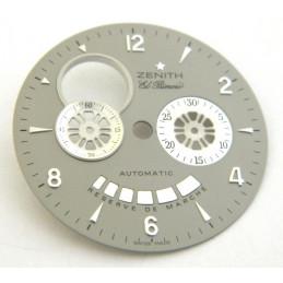 Cadran gris rond ZENITH El Primero 33mm