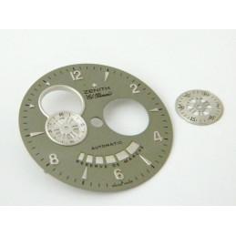 Cadran gris ZENITH El Primero 33mm