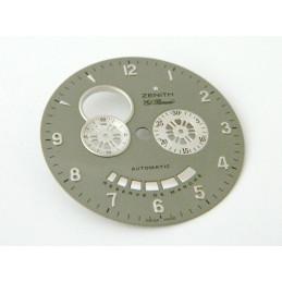 Cadran gris ZENITH El Primero 36.50mm