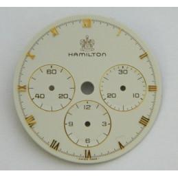 Cadran HAMILTON écru 28 mm