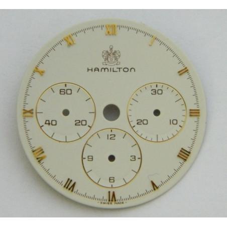 HAMILTON ecru dial 28 mm