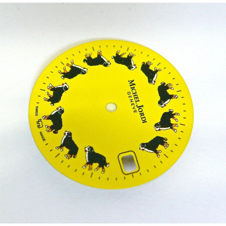 MICHEL JORDI dial diameter 25,06mm