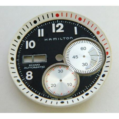 HAMILTON Black dial 34.30mm