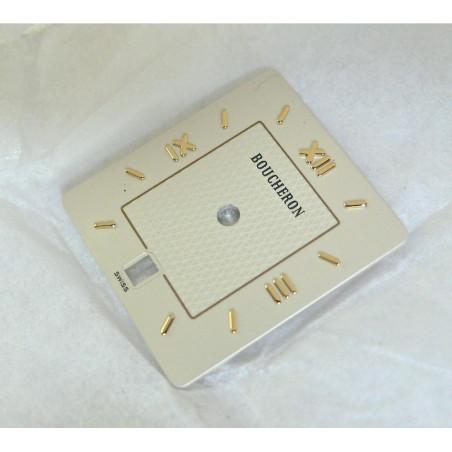 Rectangular silver REFLET BOUCHERON dial - 18x20mm