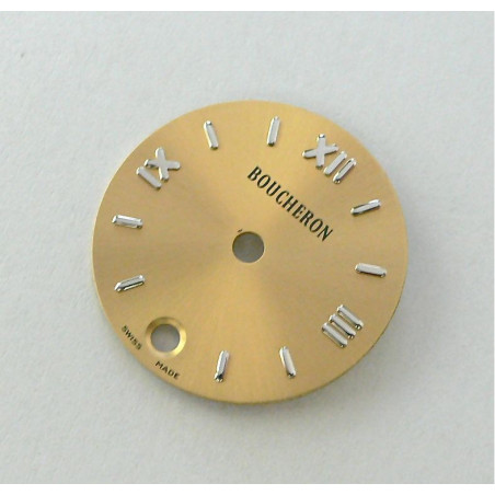 Round REFLET champagne BOUCHERON dial - 17,5mm