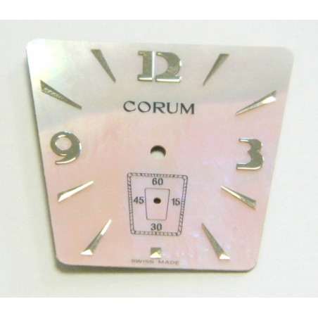CORUM Trapezoid pearl pink dial