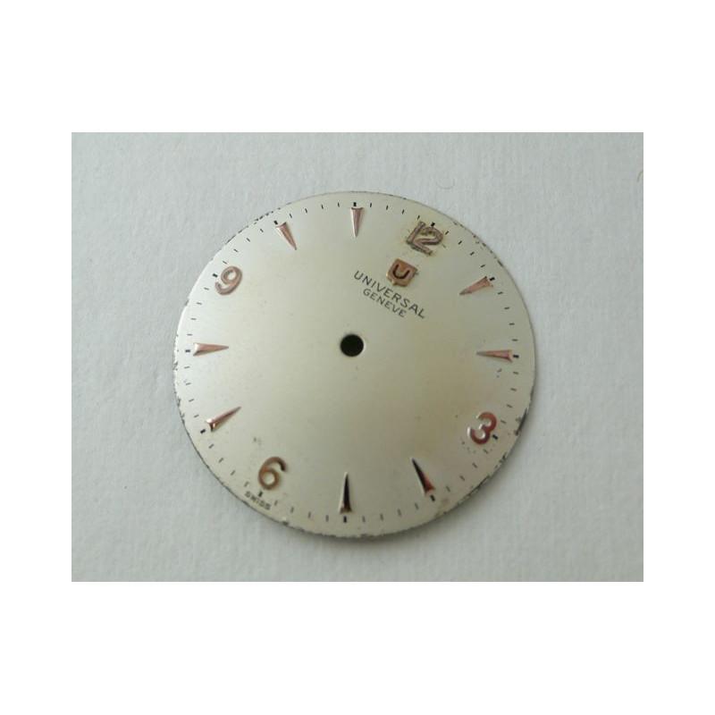 Cadran Universal Genève - diamètre 28 mm