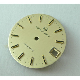 Cadran Universal Genève Unisonic - diamètre 28 mm