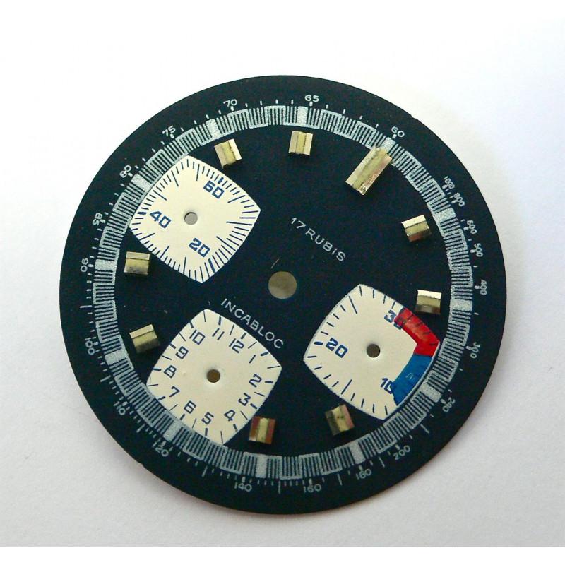 Cadran valjoux 7736 - diamètre 31,5 mm