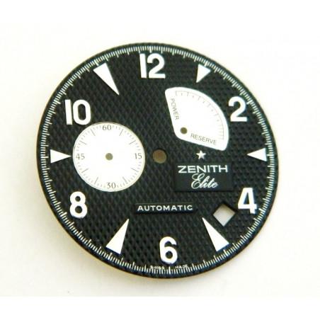 ZENITH Elite round black dial 32.50mm