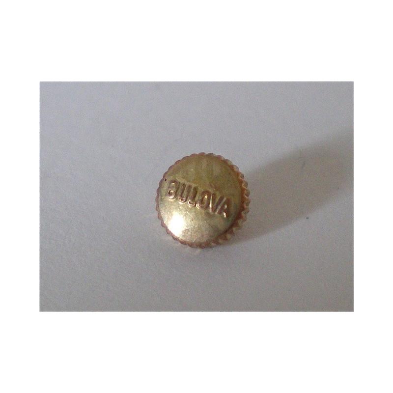 couronne BULOVA anti poussière or 3,89mm