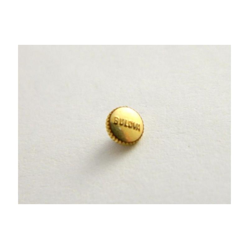 Couronne dorée BULOVA 3.87mm