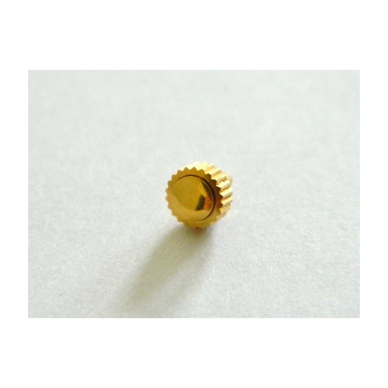 Couronne dorée PEQUIGNET Cameleone 4.50mm