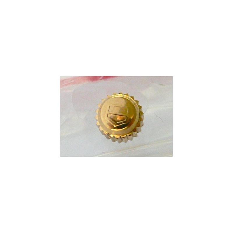 Couronne étanche plaquée or TAG HEUER 5.25mm