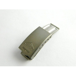 Fermoir titanium HEUER 12mm